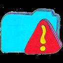 Osd Folder B Warning Emoticon