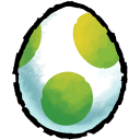 Yoshis Egg Emoticon