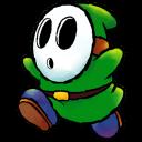 Shyguy Green Emoticon