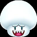 Mushroom Boo Emoticon
