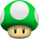 Mushroom 1UP Emoticon