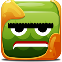 Green Block Emoticon