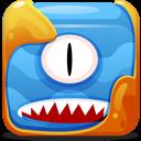 Blue Block Emoticon