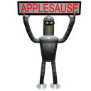 Futurama Bender 2 Emoticon