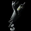 Futurama Bender 1 Emoticon