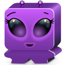 Monster Violet Emoticon