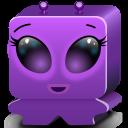 Monster Violet Emoticon