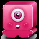Monster Pink Emoticon