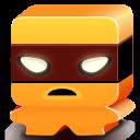 Monster Orange Emoticon