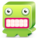 Monster Green Emoticon