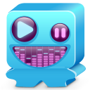 Monster Blue Emoticon