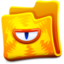 Yellow Folder Emoticon
