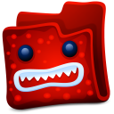 Red Folder Emoticon