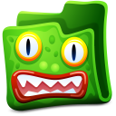 Green Folder Emoticon