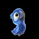 Blue Young Emoticon
