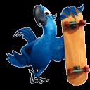 Blue 2 Emoticon
