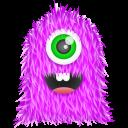 Purple Monster Emoticon