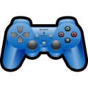 Sony Playstation Blue Emoticon