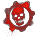Gears Of War Skull 2 Emoticon