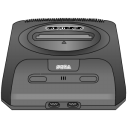 Sega Genesis Gray Emoticon