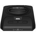 Sega Genesis Black Emoticon