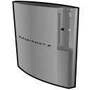 Playstation 3 Standing Silver Emoticon