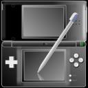 Nintendo DS With Pen Black Emoticon