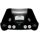 Nintendo 64 Black Emoticon