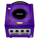 Gamecube Purple Emoticon
