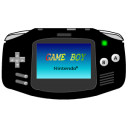 Gameboy Advance Black Emoticon