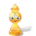 Queen Yellow Emoticon