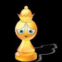 Queen Yellow Emoticon