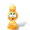 Bishop Yellow Emoticon