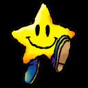 Yoshi Star Emoticon
