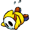 Shyguy Yellow Emoticon