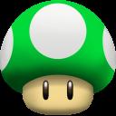 Mushroom 1UP Emoticon