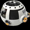 Space Racing Car 1 Emoticon