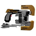 Dead Space Plasma Cutter Emoticon
