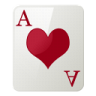 Ace Of Hearts Emoticon