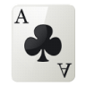 Ace Of Clubs Emoticon