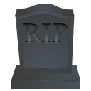 RIP Stone Emoticon
