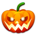 Halloween Nervous Emoticon