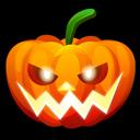 Halloween Nervous Emoticon