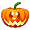 Halloween Happy Emoticon