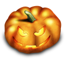 Halloween Pumpkin Emoticon