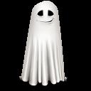 Shy Ghost Emoticon