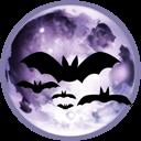Full Moon Emoticon