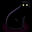 Black Cat Emoticon