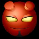 Hellboy Emoticon