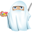 Ninja Ghost Emoticon